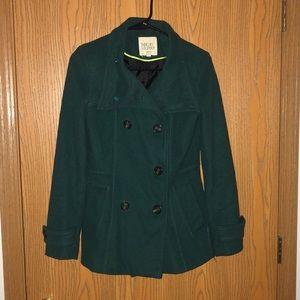 Thread & Supply Small Green Pea Coat
